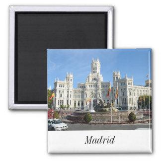 Plaza de Cibeles, Madrid-Magnet Quadratischer Magnet