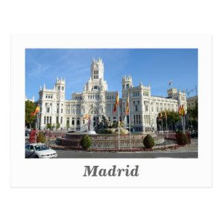 Plaza de Cibeles, Madrid-Postkarte Postkarte