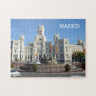 Plaza de Cibeles, Madrid Puzzle