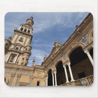 Plaza de Espana, Sevilla, Andalusien, Spanien Mousepad