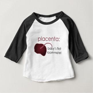 Plazenta, der erste Zimmergenosse des Babys Baby T-shirt