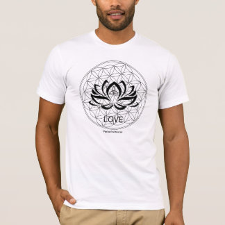 PLE, heilige Geometrie, Reiki, Blume des Lebens, T-Shirt