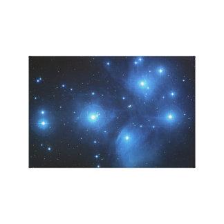 Pleiades oder die sieben Schwestern M45 Leinwanddruck
