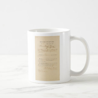Plessy V. Ferguson 163 US 537 (1896) Kaffeetasse