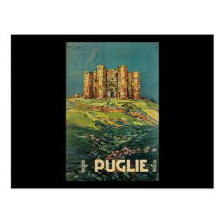 Plinio Codognato Pugile Castel Del Monte Postkarte