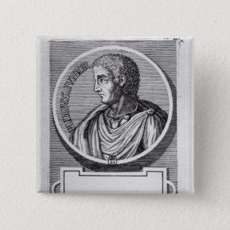 Plinius das jüngere quadratischer button 5,1 cm