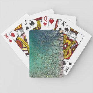Plitvice Fisch-Spielkarten Spielkarten