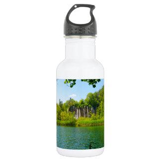 Plitvice See-Nationalpark in Kroatien Trinkflasche