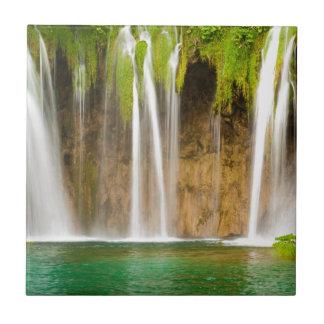 Plitvice Wasserfall Keramikfliese