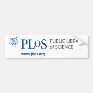 PLoS Logo Bumper Sticker