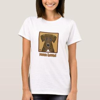 Plott Jagdhund-Cartoon T-Shirt