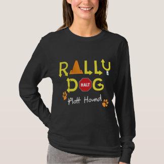 Plott Jagdhund-Kundgebungs-Hund T-Shirt