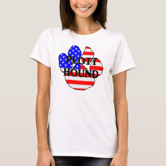 plott Namensc$usaflagge Tatze T-Shirt