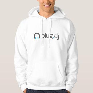 plug.dj dunkles Logo-Sweatshirt Kapuzenpullover
