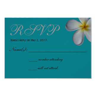 Plumeria UAWG Karte 8,9 X 12,7 Cm Einladungskarte