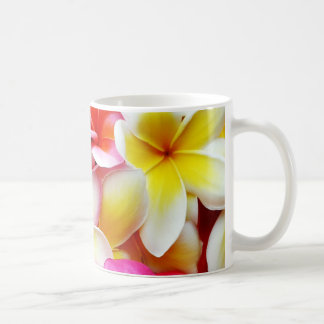 Plumeriafrangipani-Hawaii-Blumen-Hawaiianer-Blumen Tee Tasse