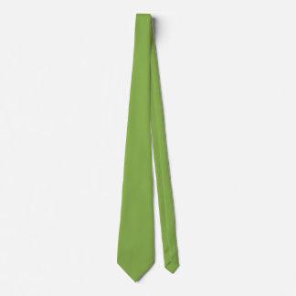 Plushly überall vorhandene grüne Farbe Bedruckte Krawatten