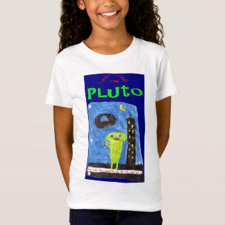 Pluto-alien-Besucher T-Shirt