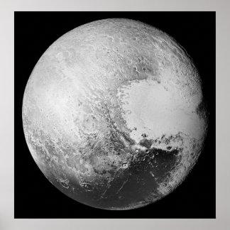 Pluto das (zwergartige) Planeten-hohe Poster
