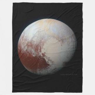 Pluto - der größte zwergartige Planet Fleecedecke