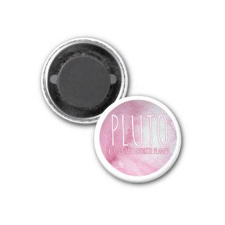 Pluto ist noch mein Lieblingsplanet Runder Magnet 3,2 Cm