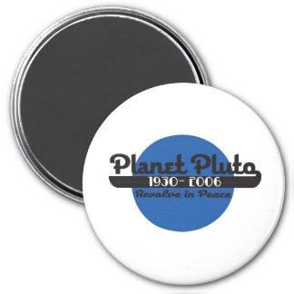 Pluto Runder Magnet 7,6 Cm