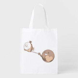 Pluto Selfie Wiederverwendbare Einkaufstasche