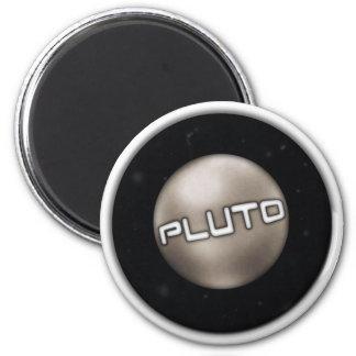 Pluto-Siegel Runder Magnet 5,7 Cm