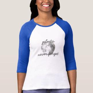 Pluto vergessen nie Baseball-T-Stück #2 T-Shirt