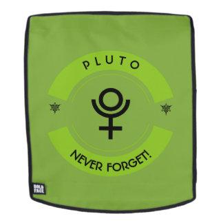 Pluto, vergessen nie rucksack