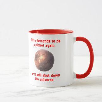 Pluto verlangt, ein Planet zu sein wieder… Tasse