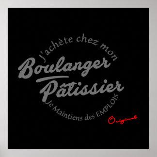 PLV für Bäcker postieren - Konditoren Poster