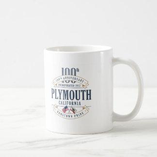 Plymouth, 100. Jahrestags-Tasse Kaliforniens Kaffeetasse