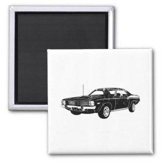 Plymouth-Barracuda 1970 Quadratischer Magnet