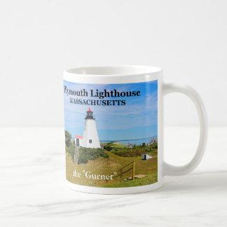 Plymouth-Leuchtturm, der Gurnet, Kaffeetasse