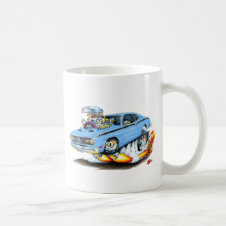 Plymouth-Staubtuch-lt 1970-74 Blue Car Kaffeetasse