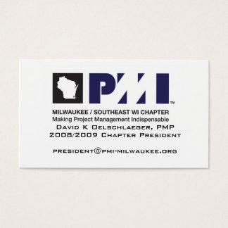 PMI Milwaukee Geschäfts-Karte Visitenkarte