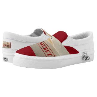 PMO STRENG GEHEIM - Zipz Beleg, Frauen 6 Slip-On Sneaker