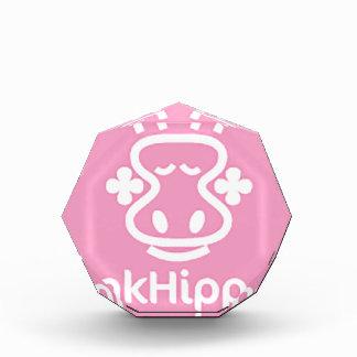 PnkHippo Logo Acryl Auszeichnung