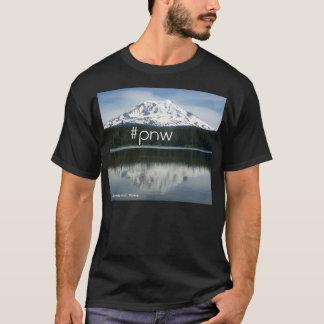 #pnw (hastag pazifischer Nordwesten) mit Mt Adams T-Shirt