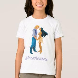 Pocahontas und John-Smith, der Hände hält T-Shirt