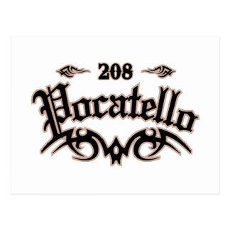 Pocatello 208 postkarte