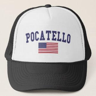 Pocatello US Flagge Truckerkappe