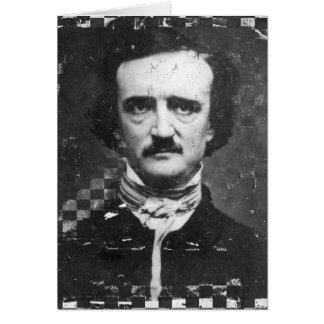 Poe, Geburtstag Karte