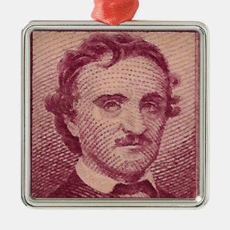 Poe Silbernes Ornament