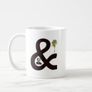 Poe und Baum Kaffeetasse