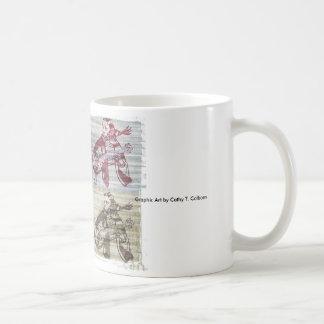 Poe und der Rabe Jammin es heraus Kaffeetasse