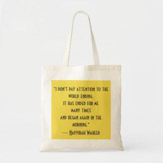 Poesie-Taschen-Tasche Tragetasche