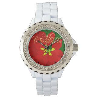 Poinsettia Armbanduhr