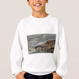 Pointe de La Hève bei Ebbe (1865) Sweatshirt